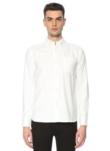 Bellfield Uzun Kollu Klasik Gömlek Beyaz